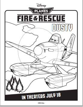 Planes Fire And Rescue Coloring Pages Planes Punch Needle And Dusty Coloring Pages