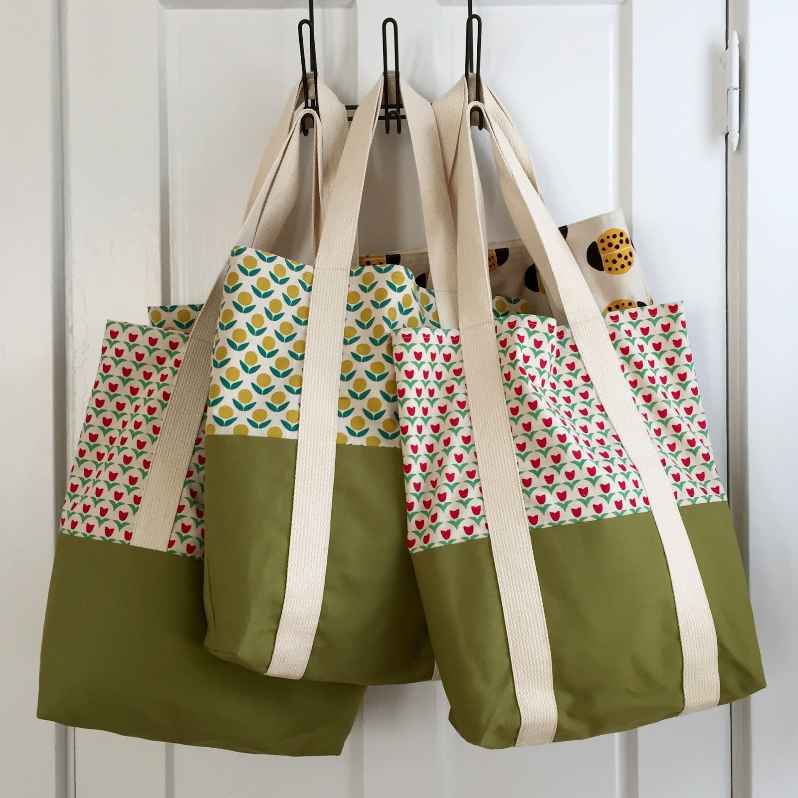 salty oat: quilt studio and fabric shop: summer craft show wrap-up + new tote bags