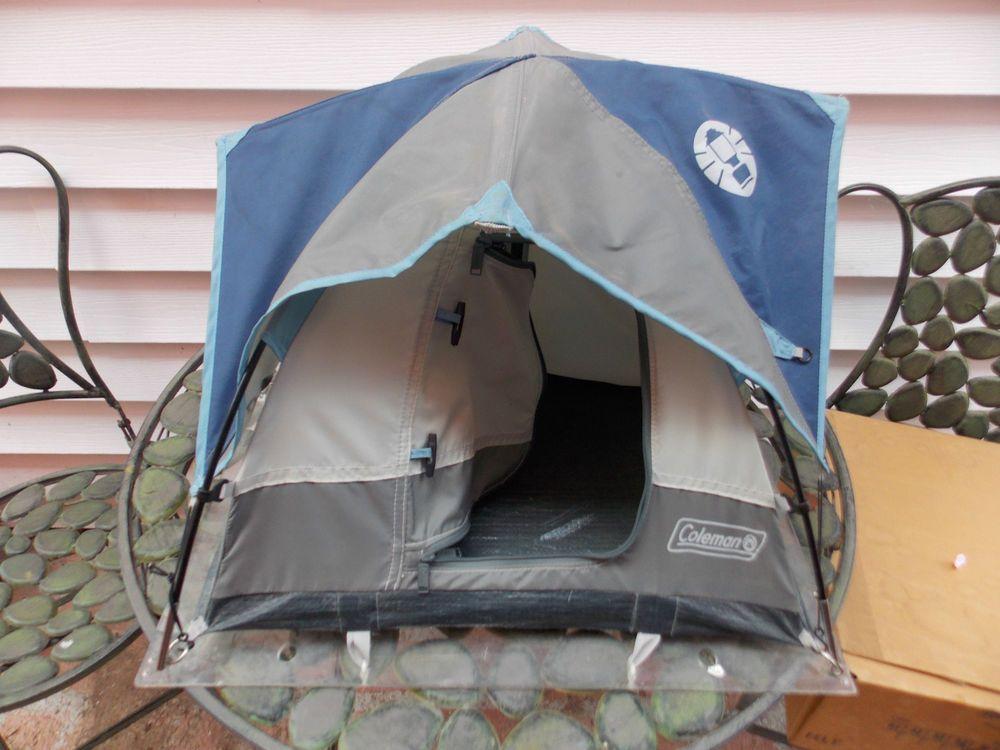 Salesman S&le Store Display Coleman Mini Tent Great for Action Figures & Salesman Sample Store Display Coleman Mini Tent Great for Action ...