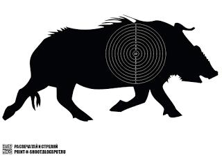 Gamo Field Target Wildschwein