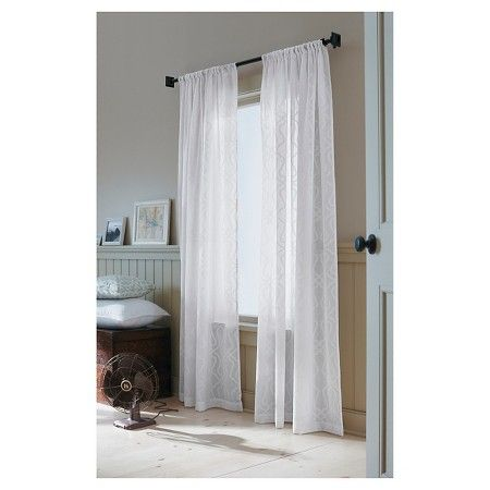 Threshold Clipped Sheer Curtain Panel Target Front Room
