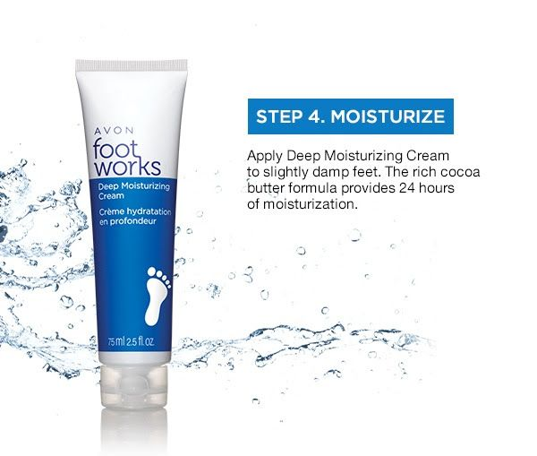 It's Summer which means it is Sandal Season Step 4 Moisturize