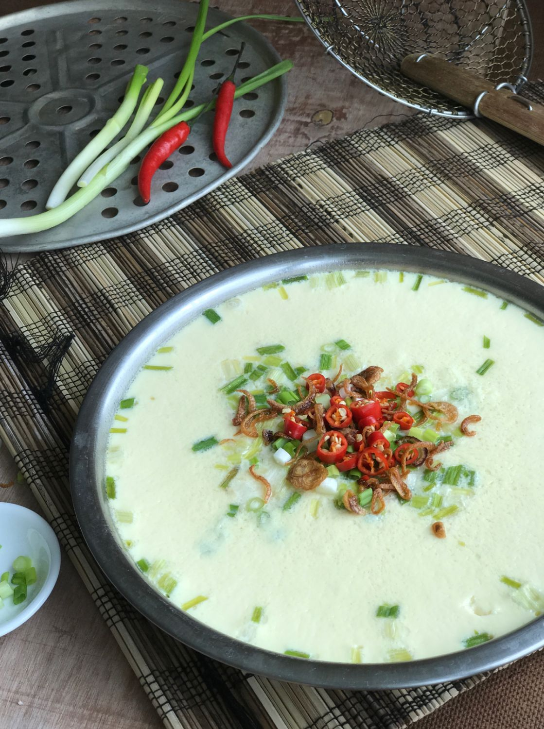 Chinese steamed egg recipe steamed eggs chinese
