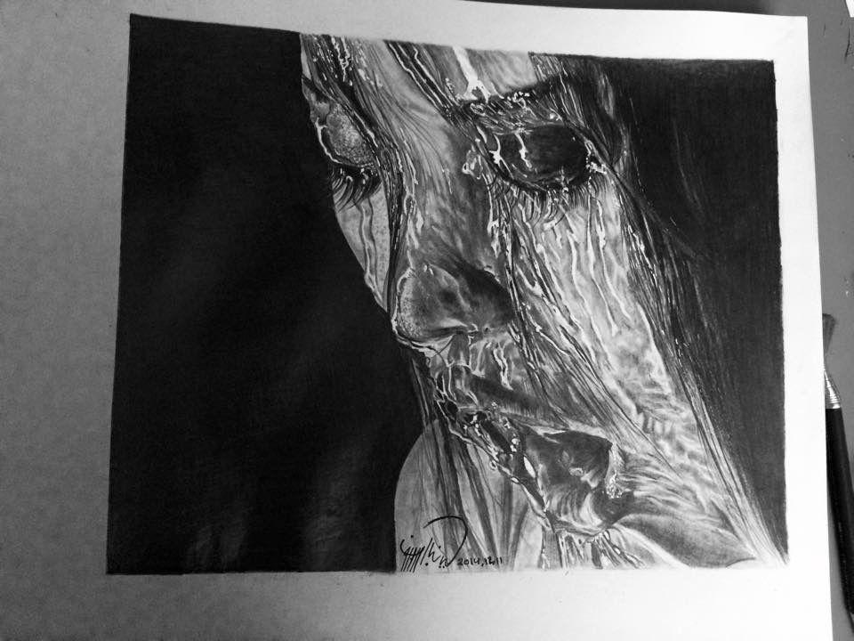 Pencil Sketch  - by Saja Noor Aldeen