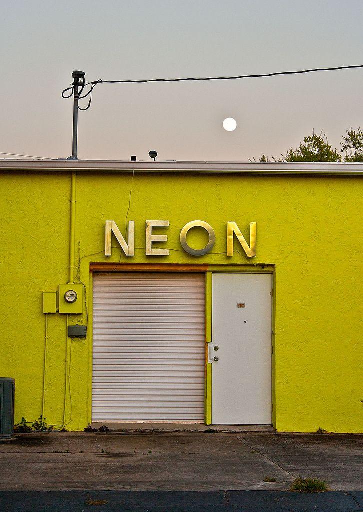 Neon Ocala #yellowaesthetic