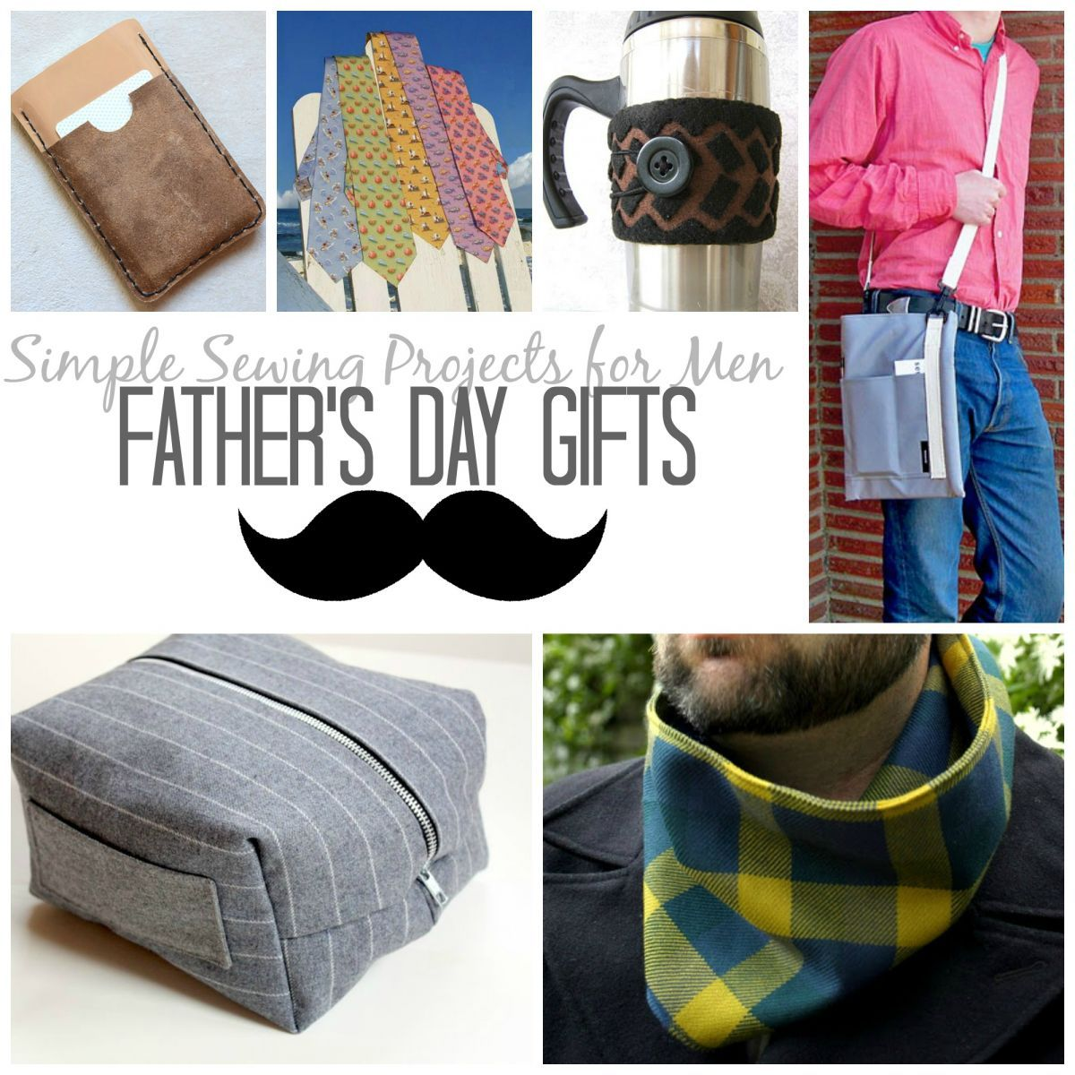 Easy Diy Birthday Gifts For Dad 21 Simple Sewn Gifts For Men Birthday And Father 39s Day