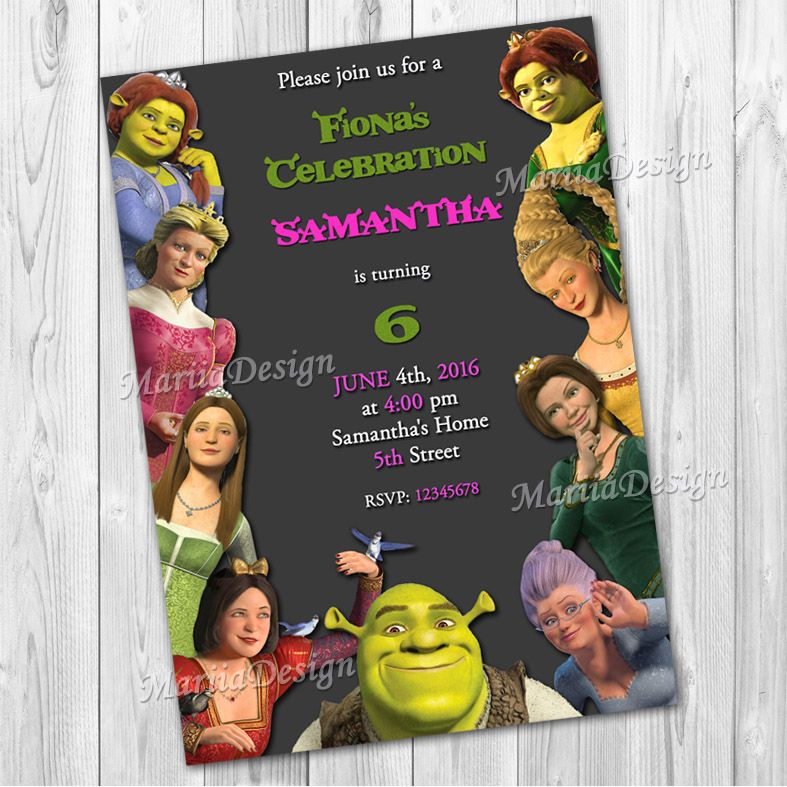 Shrek birthday invitation shrek invitation shrek girl invitation shrek birthday invitation shrek invitation shrek girl invitation filmwisefo