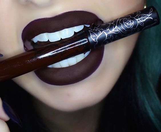 Vampire Kiss - Deep and Dramatic Lip Shades for the Wino in All of Us - Photos