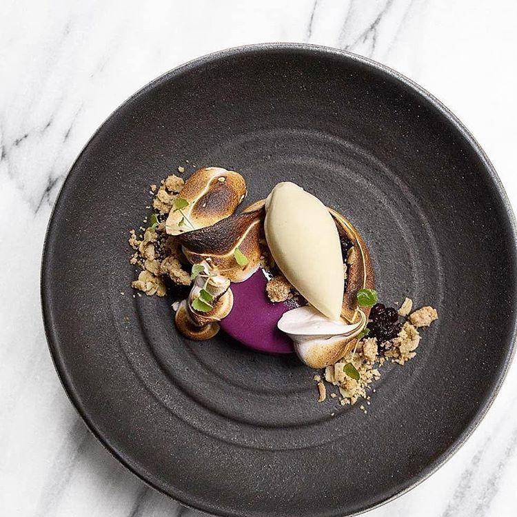 By Emma Bengtsson # Huckleberry With Smoked Vanilla