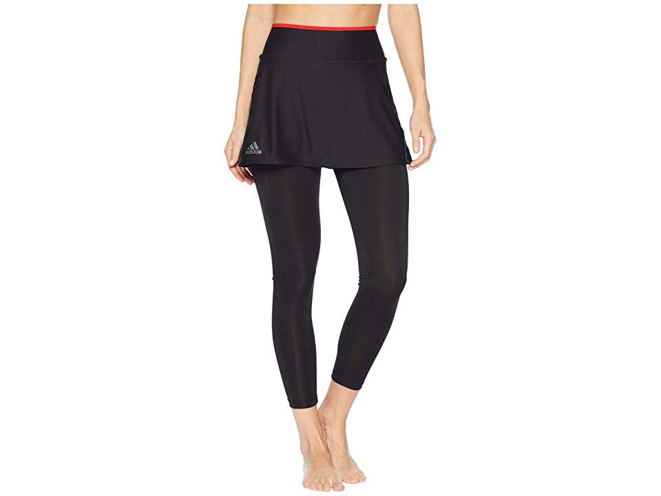 boleto biografía Discreto  adidas Barricade Skirt Leggings (Black) Women's Workout. Stayed covered  when your serving up those aces in the adidas Ba… | Slim fit skirts,  Clothes, Skirt leggings
