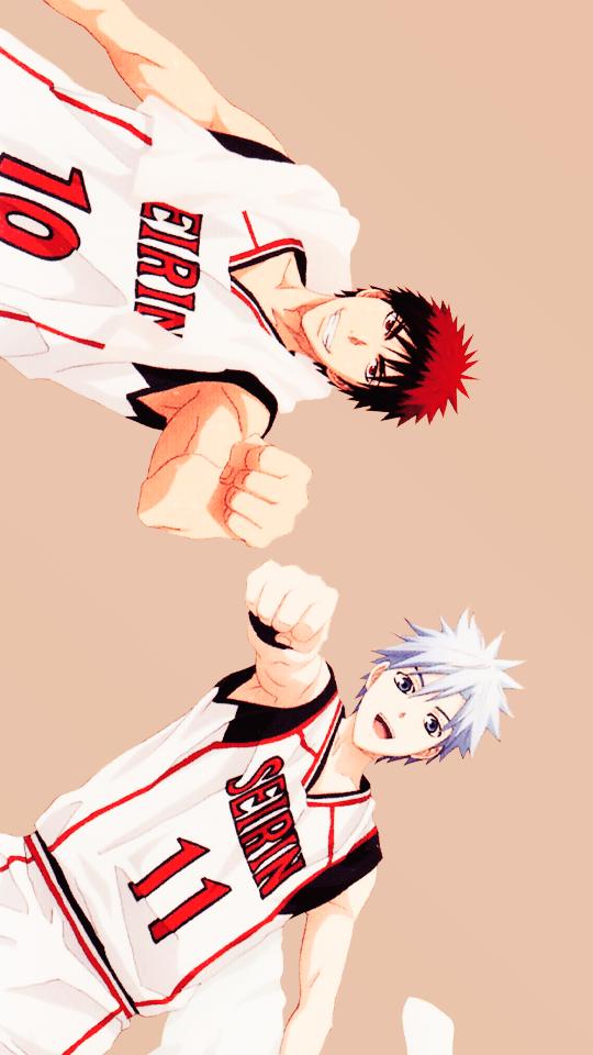 Kagami & Tetsuya Kuroko no basket, Kuroko, No basket