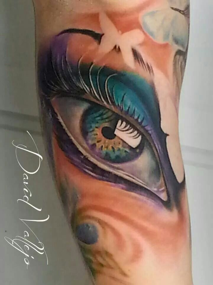 Color eye by david vallejo dallas tattoo tattoos