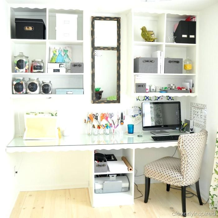 Craft Room Ideas For Small Spaces Small Home Office Organization