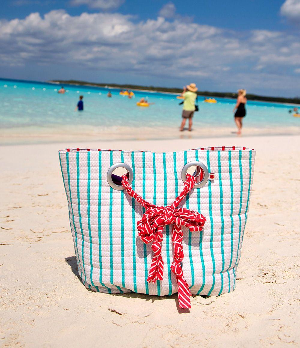 The NASSAU Beach Bag PDF Sewing Pattern via liblueboo.com