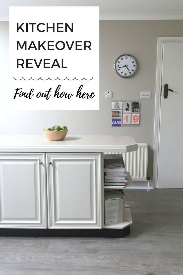 Kitchen handpainted in Farrow & Ball Slipper Satin, walls in Drop ...