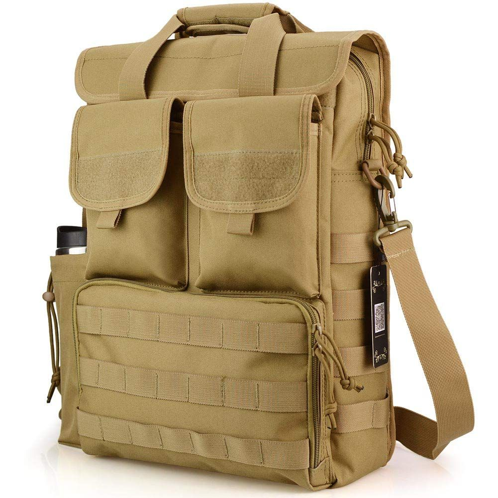 "17.3/"" Laptop Shoulder Bag Tactical Briefcase Computer Briefcase Messenger Bags"