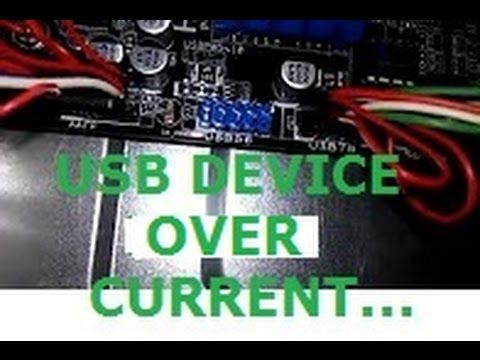 Usb Device Over Current Status Detected Com Imagens Usb