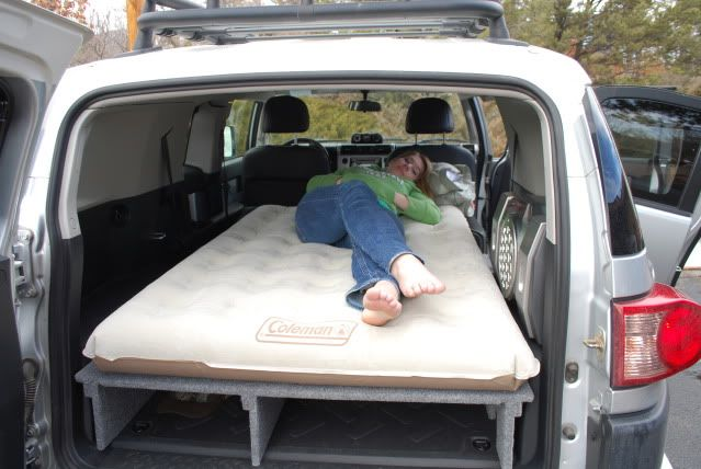 FJ Cruiser Air Mattress Platform | My Dream Garage ...