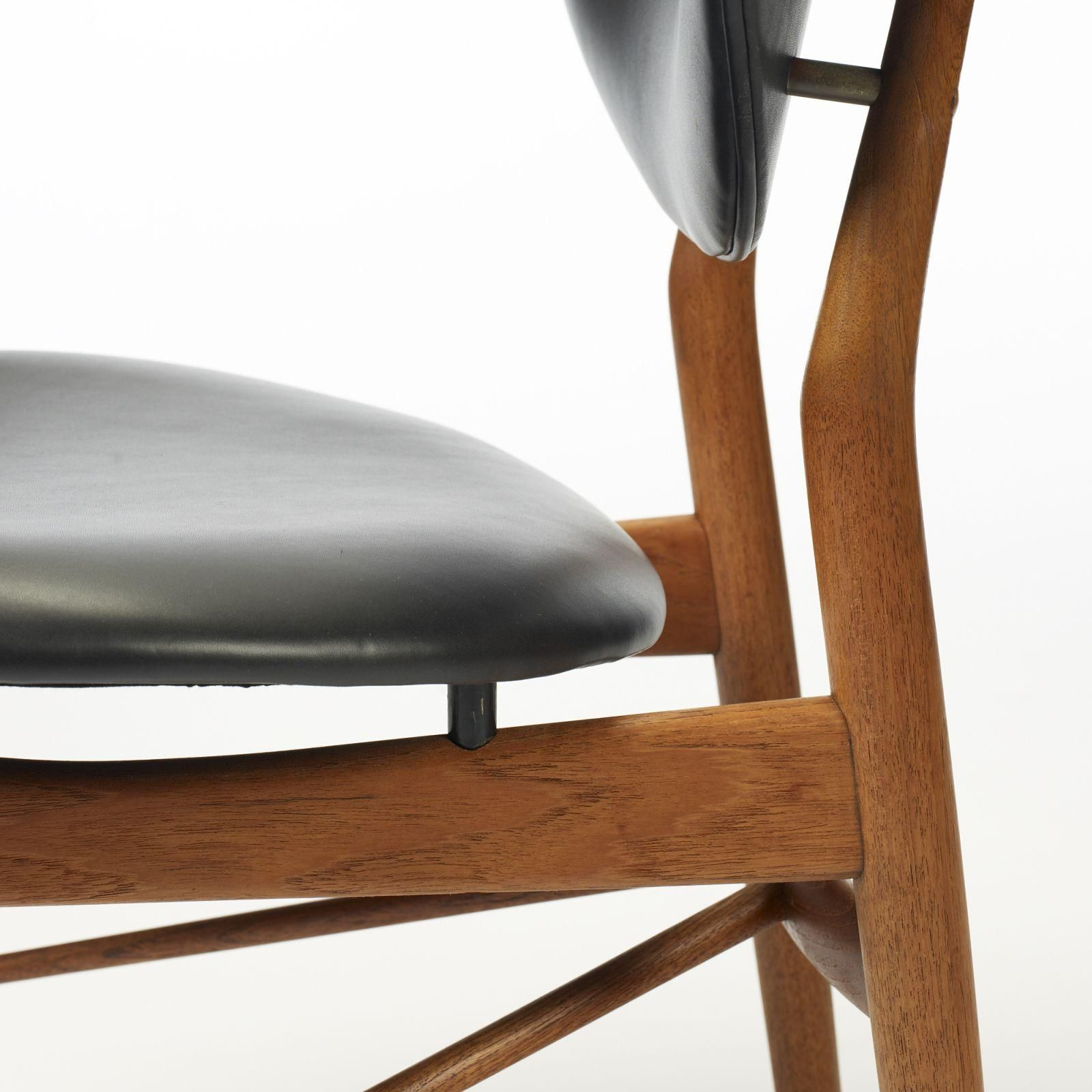 Mod108 Dining Chairs Finn Juhl Chair Wooden Chair Joinery Details