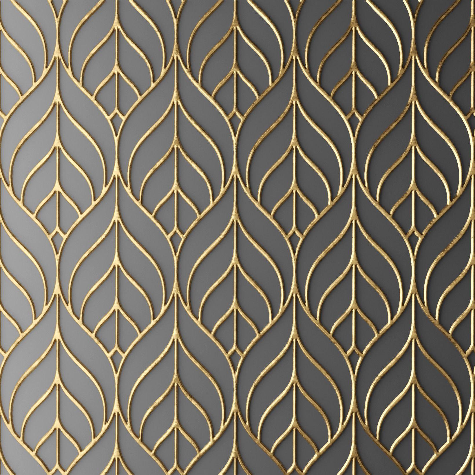 3d Design Bedroom Art Deco: Art Deco Wallpaper, Art Deco Design