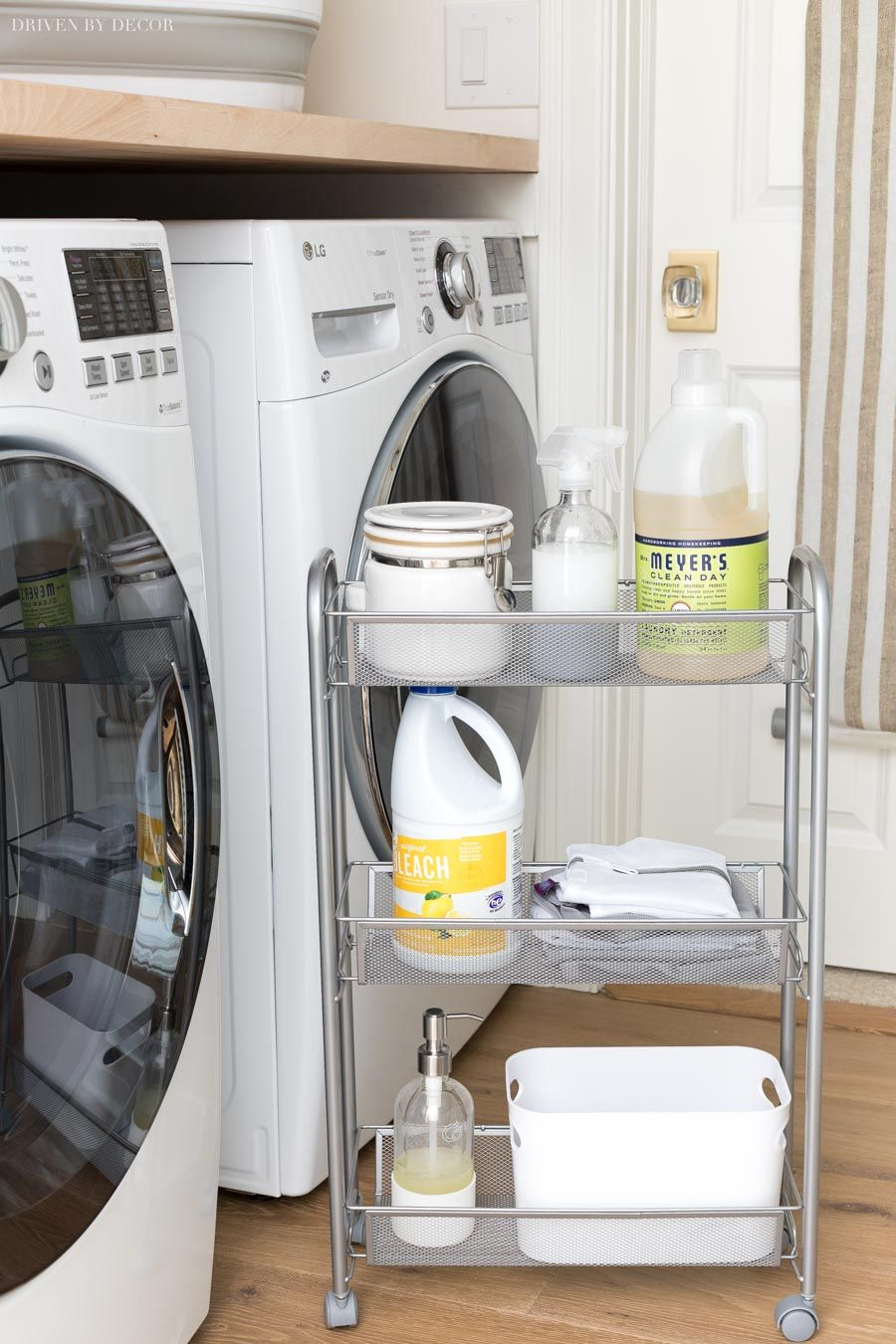 My Six Best Laundry Room Storage Ideas Driven By Decor Laundry
