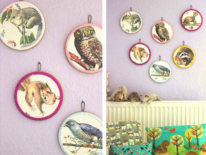 DIY-Anleitung Upcycling Wanddekoration selber machen via DaWanda - wanddekoration selber machen