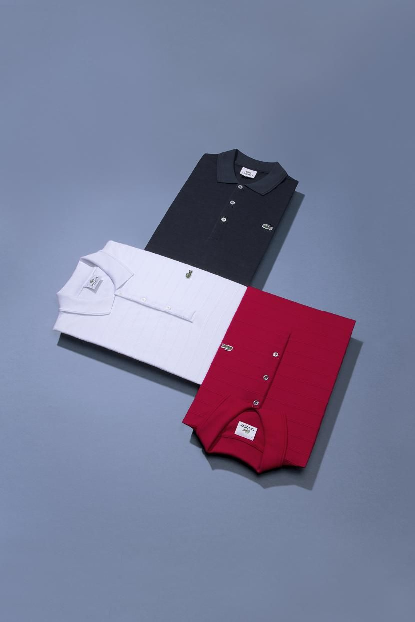 38e2b79469 Bleu, Blanc, Rouge. Discover the Finely Textured Polo for him from ...