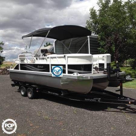 Spirit 223 Tt Fish Pontoon Boats For Sale Pontoon Boat