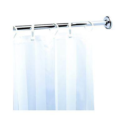 Nameeks Geesa 5226 Standard Hotel Curtain Rail Shower Rod, Chrome ...