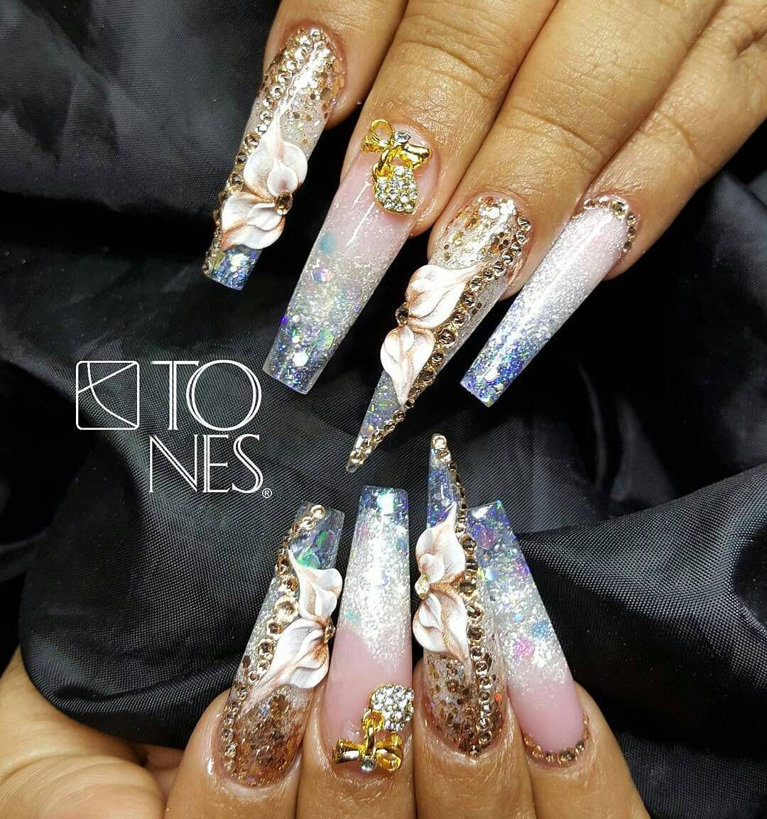 Pin by IRMA CEJA on nails Pinterest Bright Gorgeous nails and