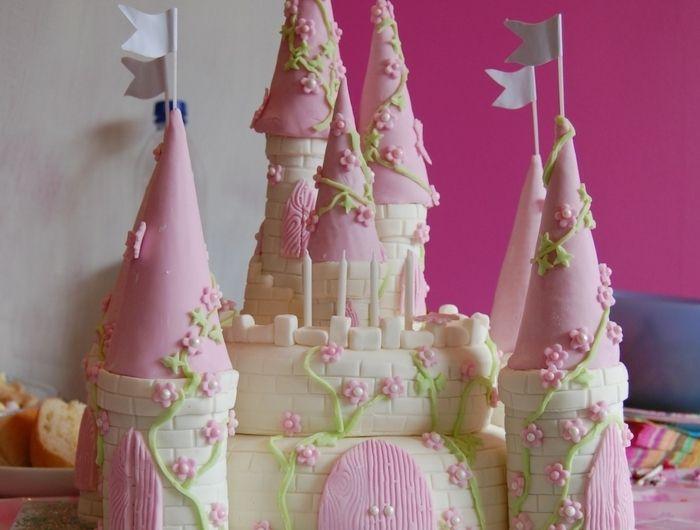 decoration gateau anniversaire fille 4 ans