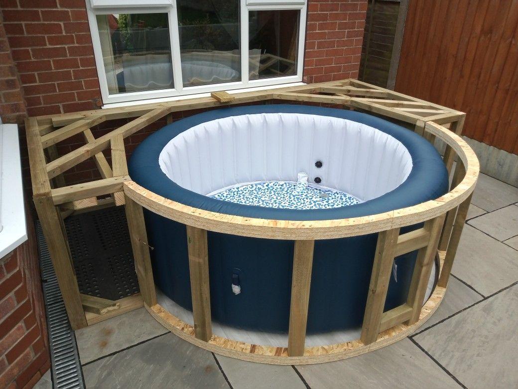 22+ Diy hot tub surround trends