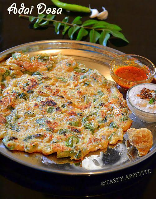 Adai Adai Dosa Recipe Breakfast Recipes Indian Veg Breakfast Recipes Breakfast Recipes Easy
