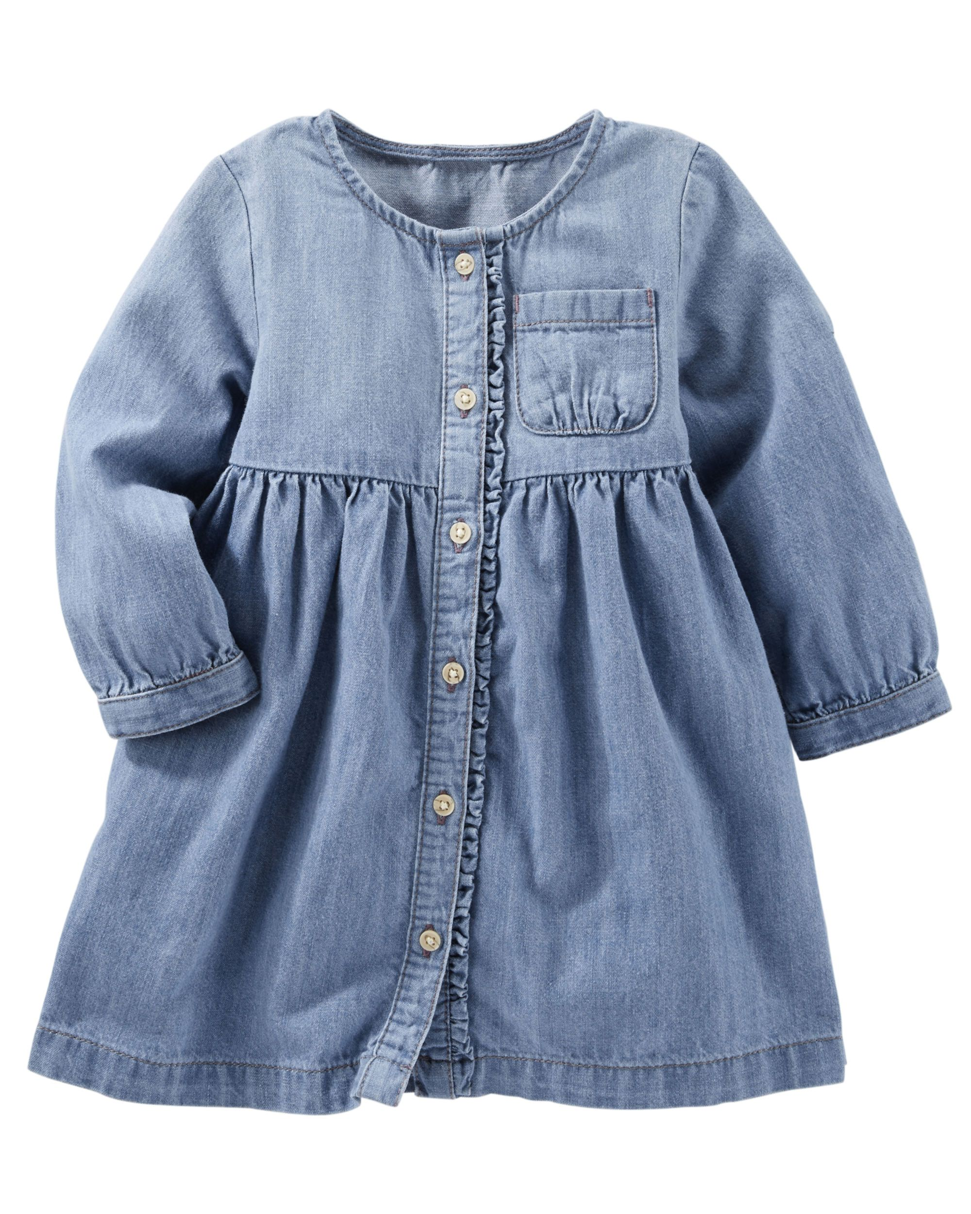 Baby Girl 2 Piece Denim Dress from OshKosh B gosh Shop clothing