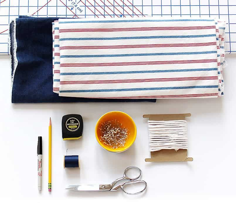 Diy bench cushion cover sewing be brave and bloom in