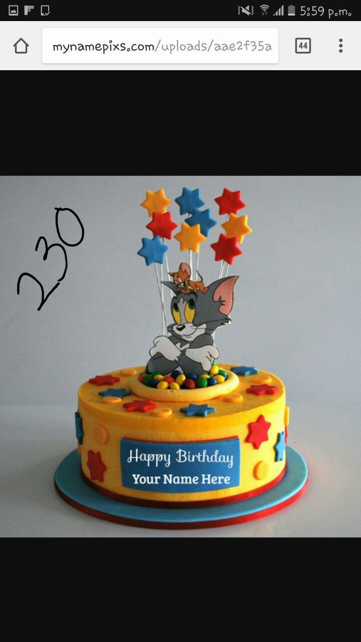 Pin By La Maison Du Cake On Tom Jerry Cartoon Birthday Cake