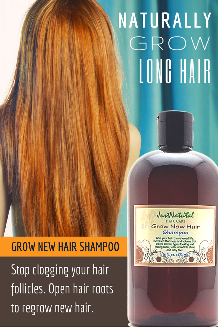 Grow New Hair Shampoo / This Shampoo Helps Fortify And