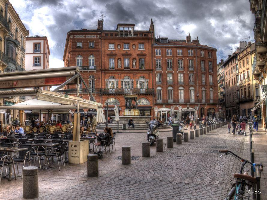 Photographies Prises A Toulouse A L Hotel Assezat Sur La Place Wilson Toulouse Ville Rose Haute Garonne