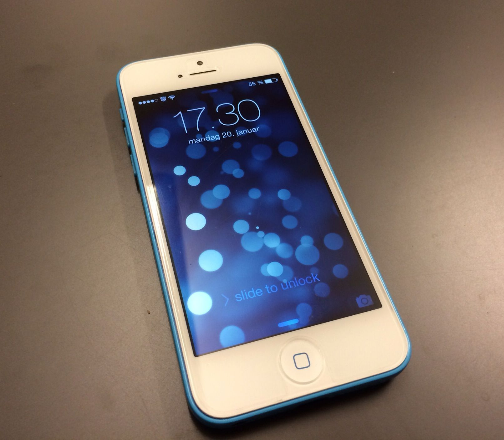 iphone 5c white screen iphone 5c blue with white screen n3rd 14718