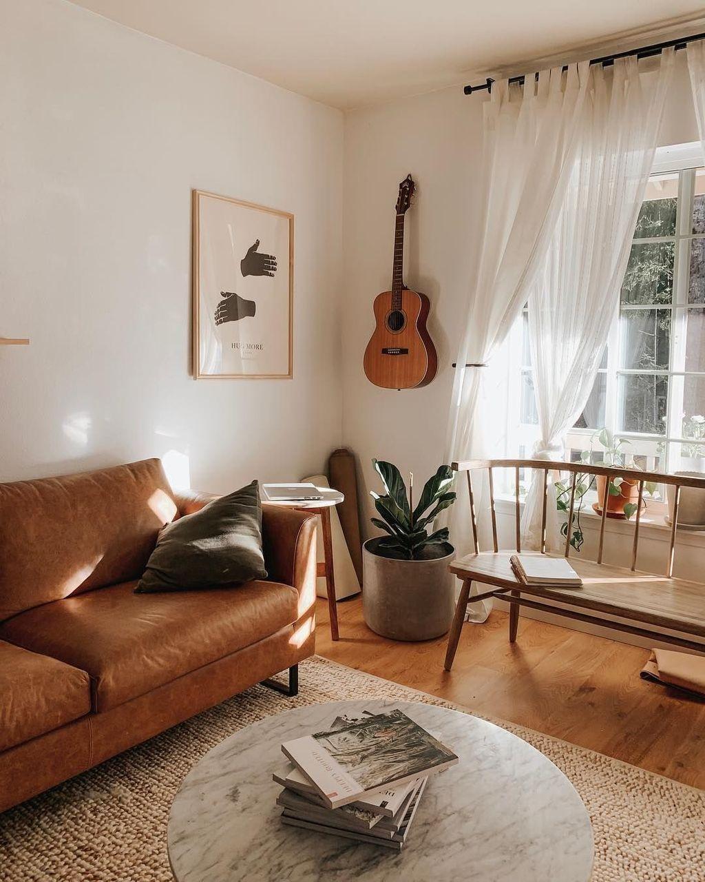 49 Popular Summer Modern Minimalist Living Room Decor Ideas #minimalisthomedecor