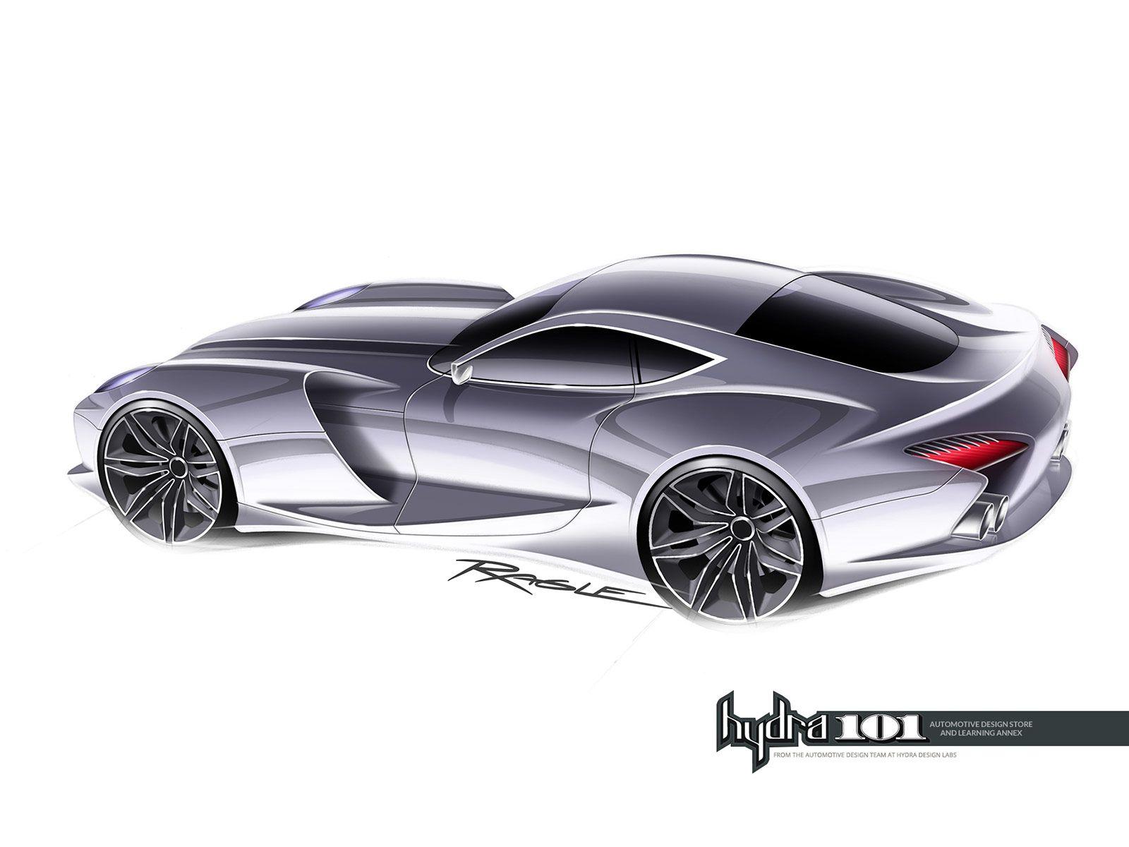 Supercar Design Sketch By Gary Ragle Car Body Design Supercar Design Automotive Design Super Cars