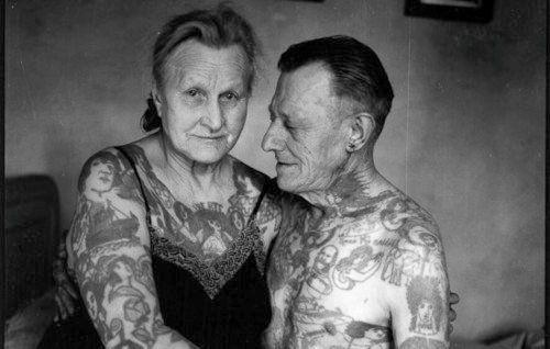 beautiful tattoos, beautiful people