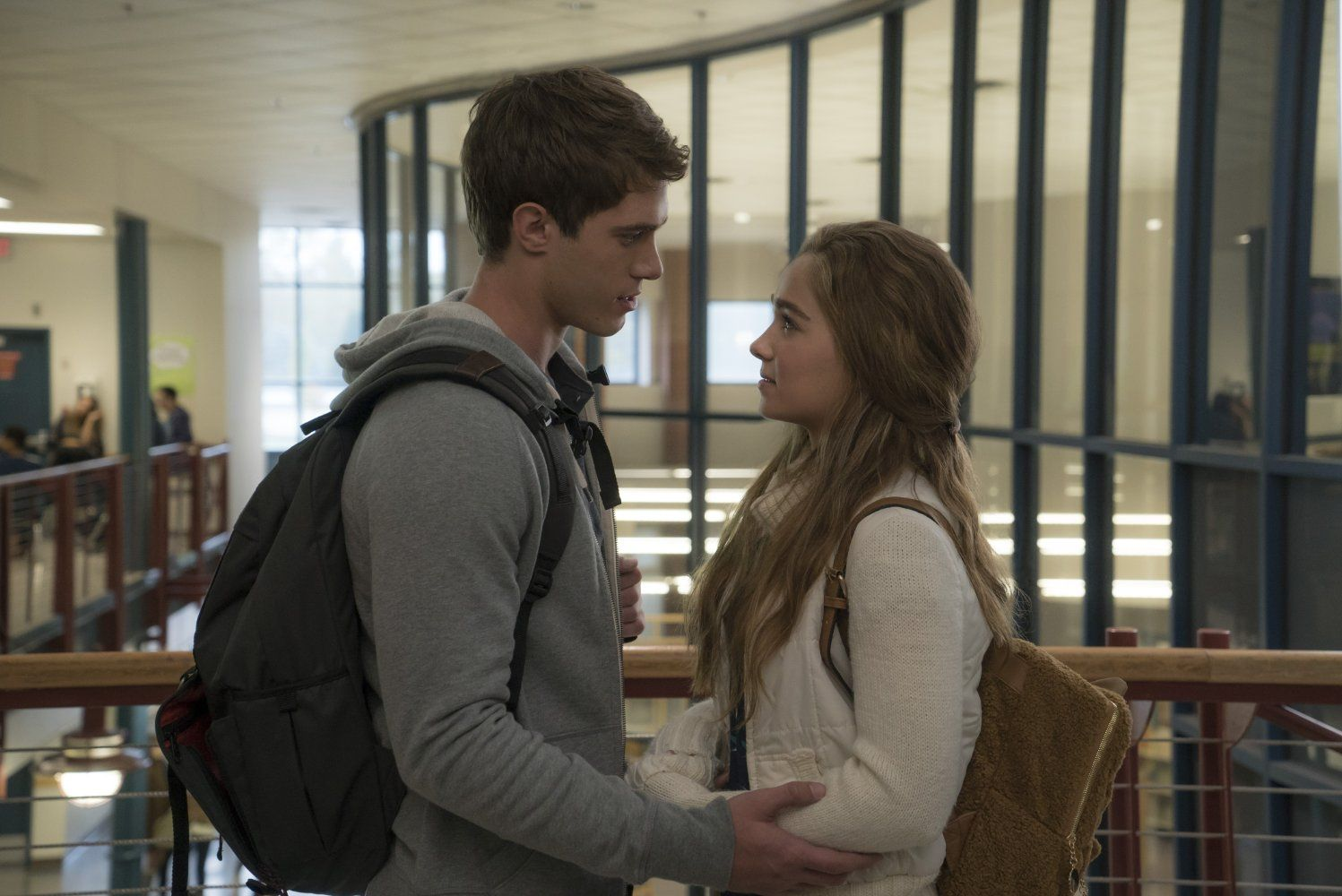 Blake Jenner And Haley Lu Richardson In The Edge Of Seventeen Blake Jenner Movies Frances Movie