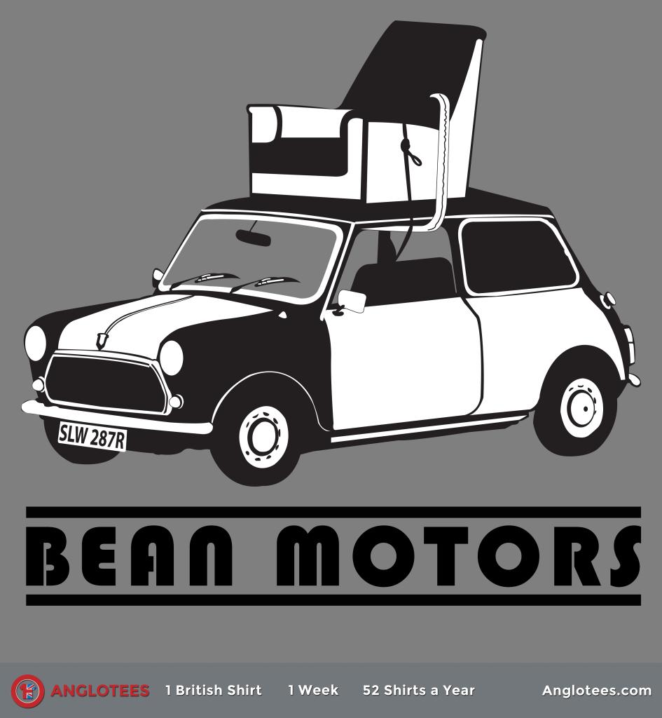 Bean Motors For Catalog British Comedy Comedy Tribute