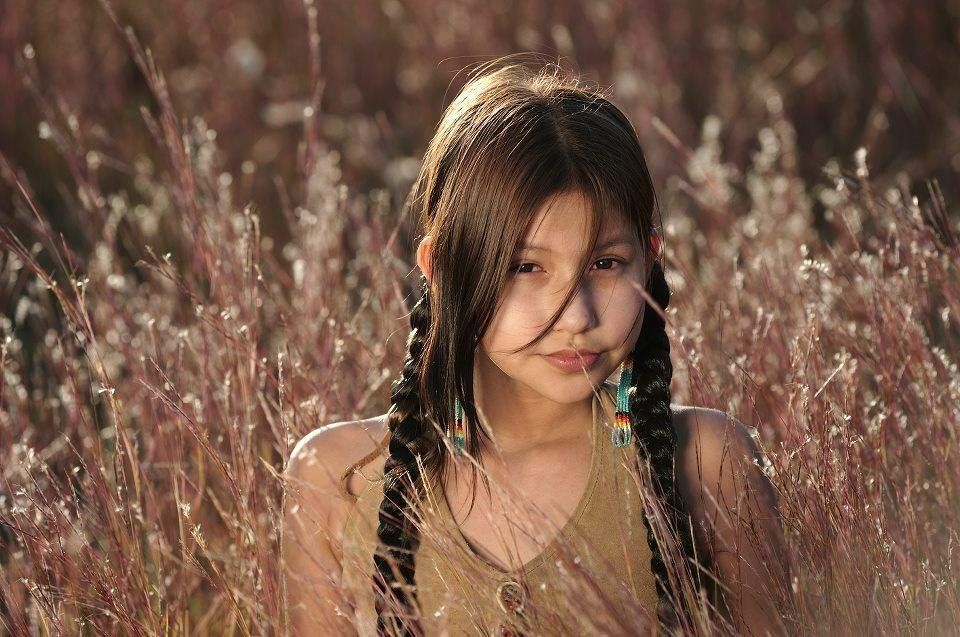 AWL Images A Young Native Indian Girl, Crow Creek Sioux