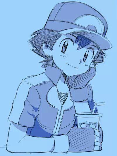 Pokemon Ash Drawing Images