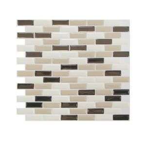 smart tiles in x in peel and stick murano