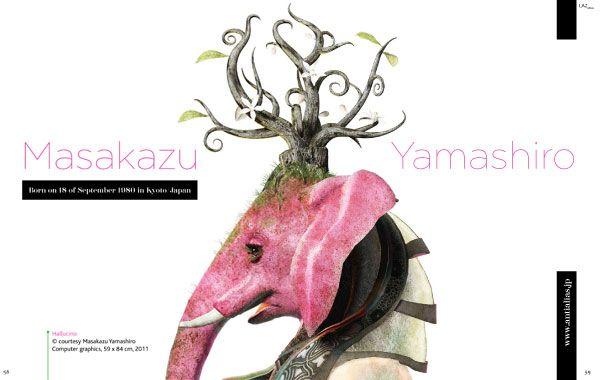 Masakazu Yamashiro lazagne magazine interview