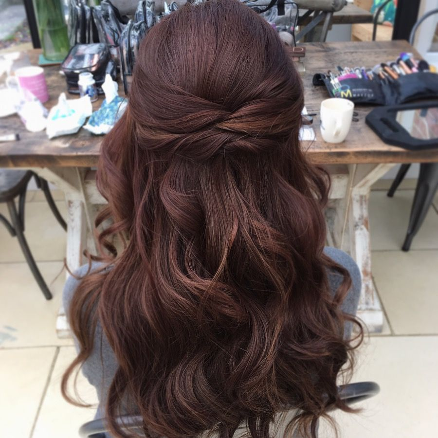 wedding guest hair up styles wedding hair half up half quot the back of yo is 9254