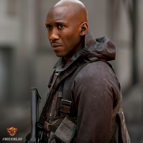 The right hand of District 13. Official still image of Mahershala Ali as Boggs in #TheHungerGames #Mockingjay Part 1